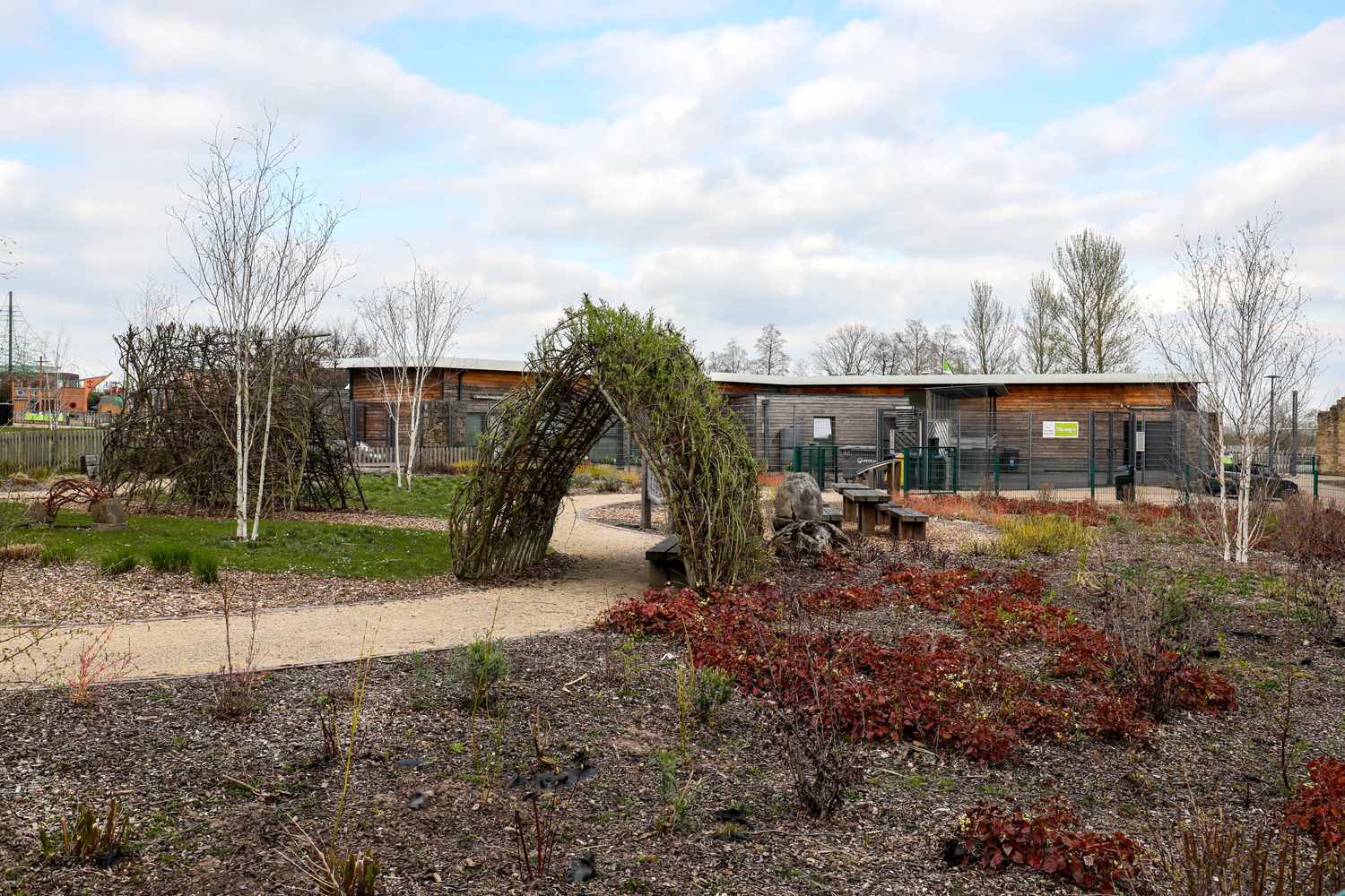 Picture of a community garden in Telford Town Park
