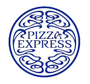 Illustration of Pizza Express logo